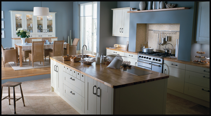 Broadoak Ivory | K & B Kitchens | Bespoke Fitted Kitchens in Herts ...